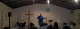Bill Simpson Preaching at Bullet Tree Falls Baptist Church