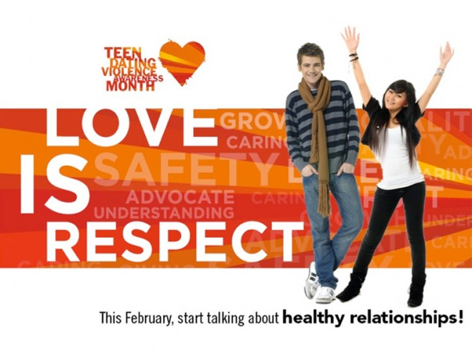 Teen Dating Violence Awareness - 4x3